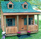Log Playhouse - Click to enlarge